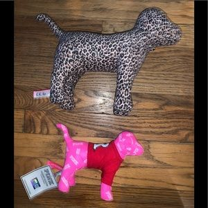 Large VS PINK dog